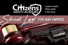 Street Law for Gun Owners